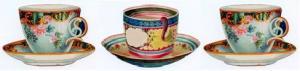 3 Teacups