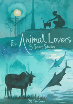 If you get this book, besides getting 3 entertaining short stories, you'll also be giving 10% of the sale price to the ASPCA to help homeless animals! Sounds like an awesome deal, right? Read Kim Cano's guest post below to find out what her best real life story with an animal is, what her writing process was like for this story, and what her favorite moment since For Animal Lovers came out is!