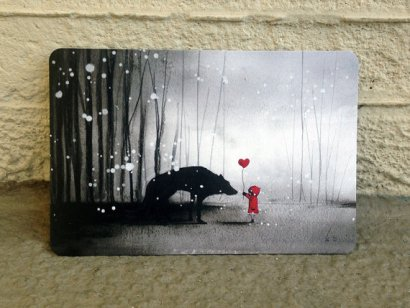 Little Red Postcard