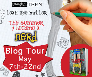 The Summer I Became a Nerd blog tour button
