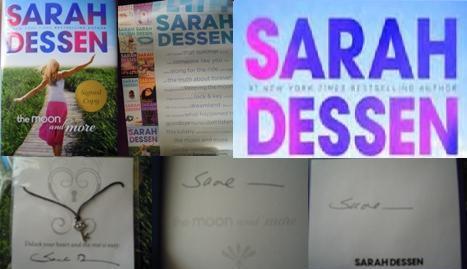 Sarah Dessen Collage